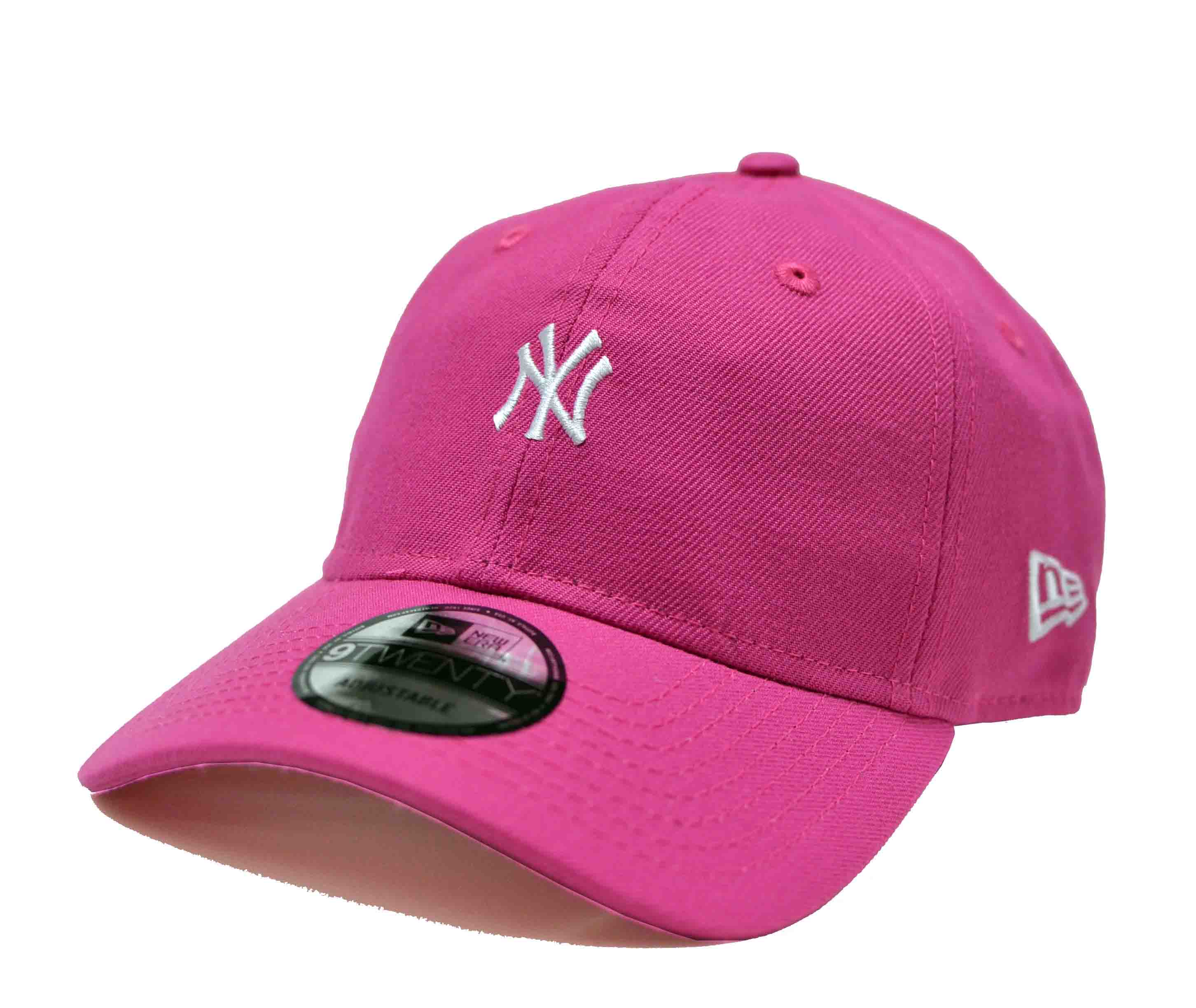 Boné New Era Aba Curva Mini Logo New York Rosa Pink - Strapback