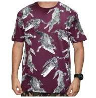 Camiseta Blunt Alligator - Vinho