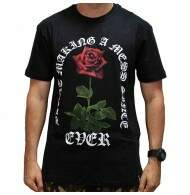 Camiseta Blunt Making Rose Mess - Preto