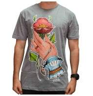 Camiseta Blunt Hands Collab - Mescla