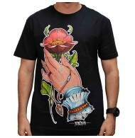 Camiseta Blunt Hands Collab - Preto