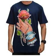 Camiseta Blunt Hands Collab - Marinho