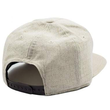 Boné New Era Snapback Original Fit Branded Logo Hemp Wood