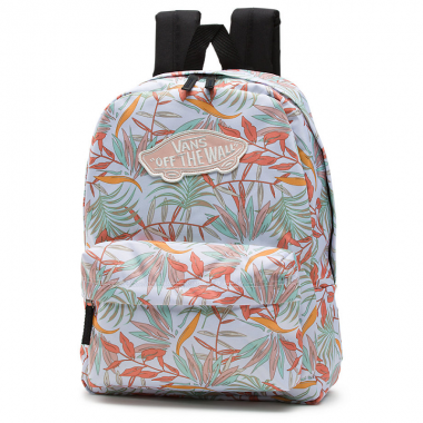 Mochila Vans WM Realm Backpack White California Floral