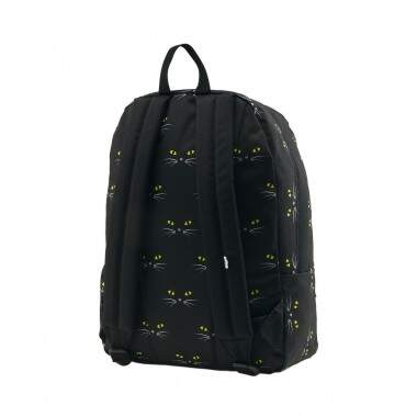 Mochila Vans WM Realm Backpack Black Cat