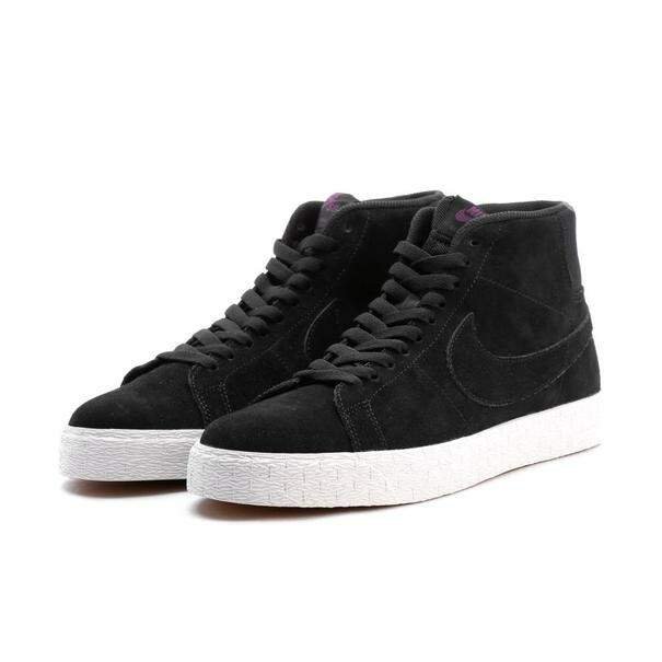 Tênis Nike SB Blazer Mid Decon - Black/Purple