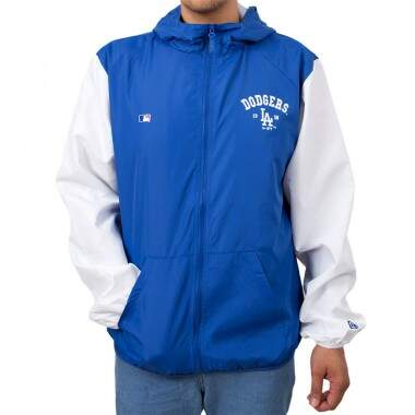 Jaqueta New Era Los Angeles Dodgers Windbreaker  - Azul