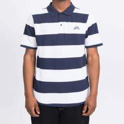 Camiseta Polo Nike SB Stripe obsidiana