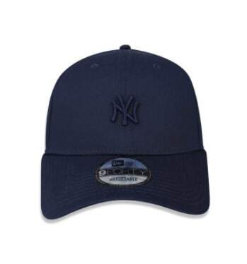 Boné New Era Aba Curva Mini Logo Yankees Navy - Snapback