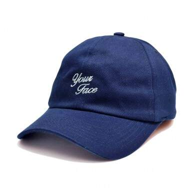 Boné Your Face Dad Hat Blade Marinho - Strapback