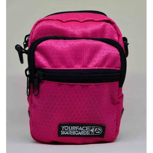 Bolsa Lateral Shoulder Bag Your Face - Rosa