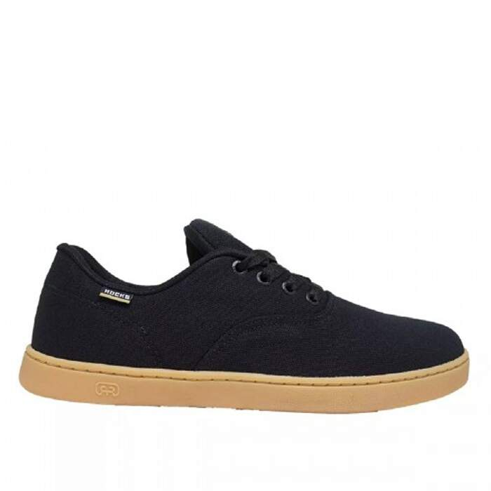 Tênis Hocks Sonora Skate Canvas - Preto/Natural