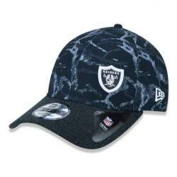 Boné New Era Aba Curva Oakland Raiders Black - Snapback