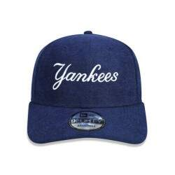 Boné New Era Aba Curva New York Yankees Marinho - Strapback