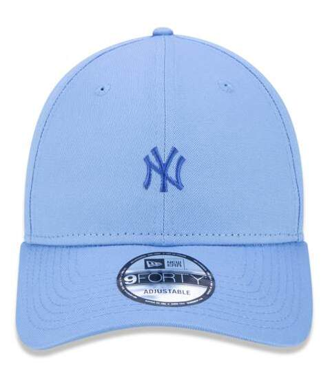 Boné New Era Aba Curva 940 Mini Logo New York Azul - Snapback