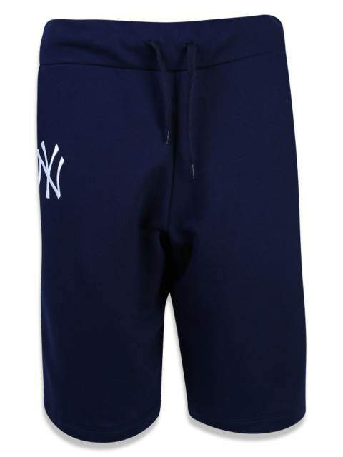 Bermuda New Era Moletom Sport New York Yankees MLB - Azul