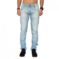 Calça Your Face Jeans Skinny - Claro