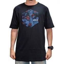 Camiseta Hurley Water Color - Preto