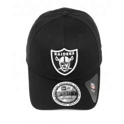 Boné New Era Aba Curva Oakland Raiders NFI Black - Snapback
