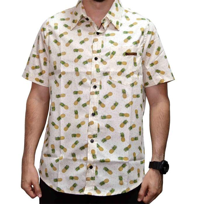 Camisa Your Face Pineapple - Off/White