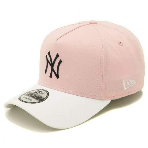 Boné New Era Aba Curva 940 New York Yankees Rosa - Strapback