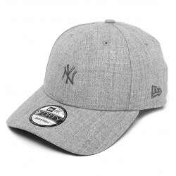 Boné New Era Aba Curva 940 Mini Logo New York Bege - Snapback