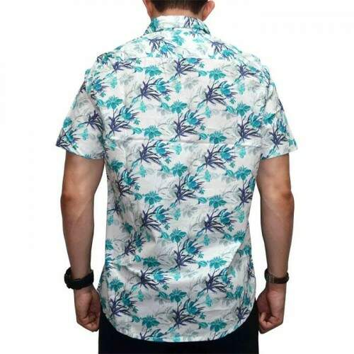 Camisa Your Face Floral - Branco
