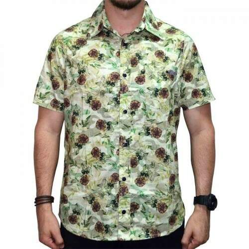 Camisa Your Face Forest - Verde