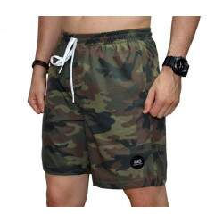 Short Double G Sport Nylon - Camuflado