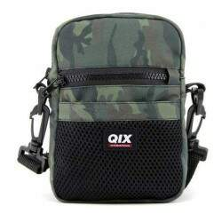 Shoulder Bag Qix Camuflado - Verde
