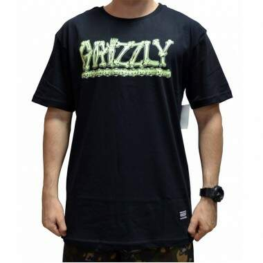 Camiseta Grizzly Bones - Black