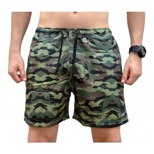 Short Your Face Camuflado - Verde