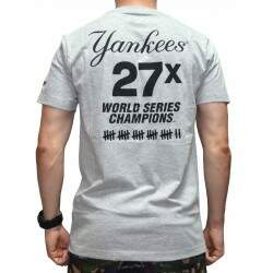 Camiseta New Era MLB New York Yankees - Cinza