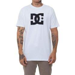 Camiseta Dc Bas Star - White