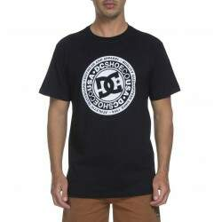 Camiseta Dc Bas Circle - Black