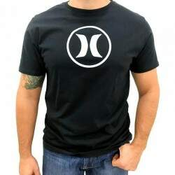Camiseta Hurley Icon Basic - Preto