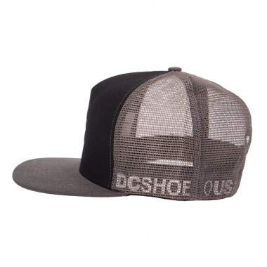Boné DC Shoes Greet Up Preto - Snapback