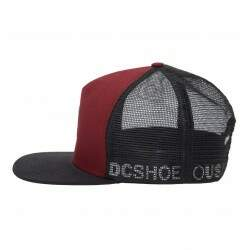 Boné DC Shoes Greet Up Bordo - Snapback