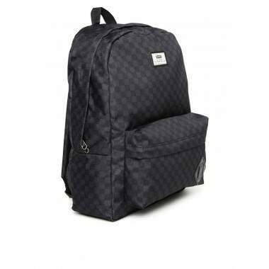 4a6c649d13a Mochila Vans Old Skool Backback Charcoal - Black
