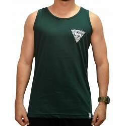 Camiseta Regata New Worlowide - Verde