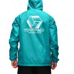 Jaqueta Your Face Windbreaker Color - Verde
