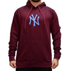 Moletom New Era Essentials Litte New York  Yankees - Burgundy