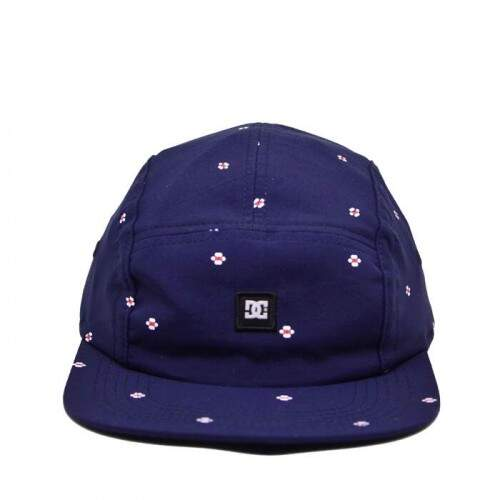 Boné DC Shoes 5panel Pill Iris Navy - Snapback