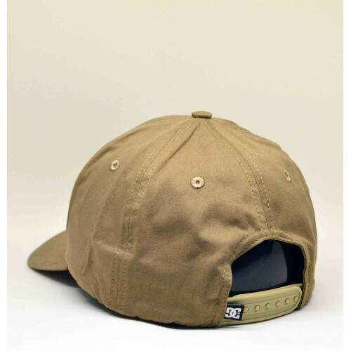 Boné DC Shoes Aba Curva Switcheroo Khaki - Strapback