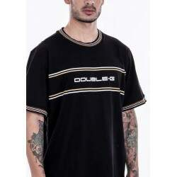 Camiseta Double G Hype - Preto