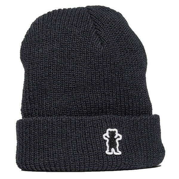 Gorro Grizzly Og Bear Fold - Black
