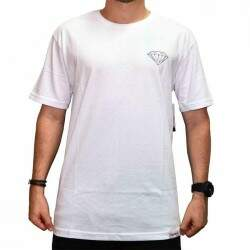 Camiseta Diamond Supply Co Brilliant - White