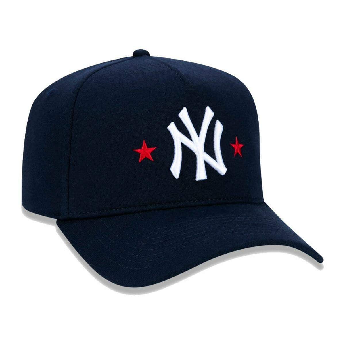 Boné New Era Aba Curva A-Frame New York Yankees Stars Navy - Snapback
