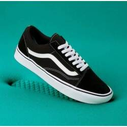 Tênis Vans Old Skool Confycush - Black/White
