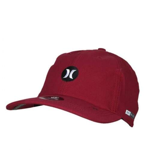 Boné Hurley Dri-Fit Today Vinho - Snapback